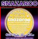 SNAZAROO PROFESSIONAL FACE PAINT SPARKLE YELLOW 18ML